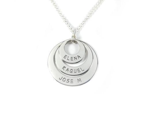 Colgante Corazón personalizado en plata de ley 925